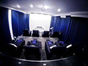 Blue Water Day Spa Naga Theater Room for Group Spa Parties