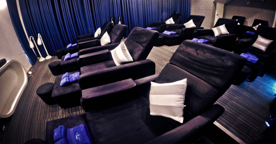 Blue Water Day Spa Naga Theater Room
