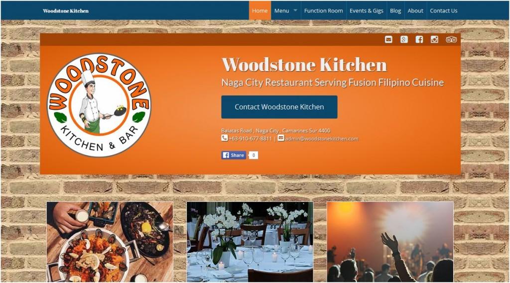 Woodstone Kitchen Website