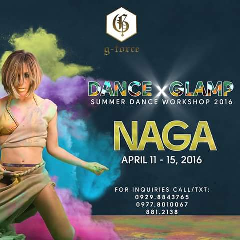 G-Force Summer Dance Workshop Naga City