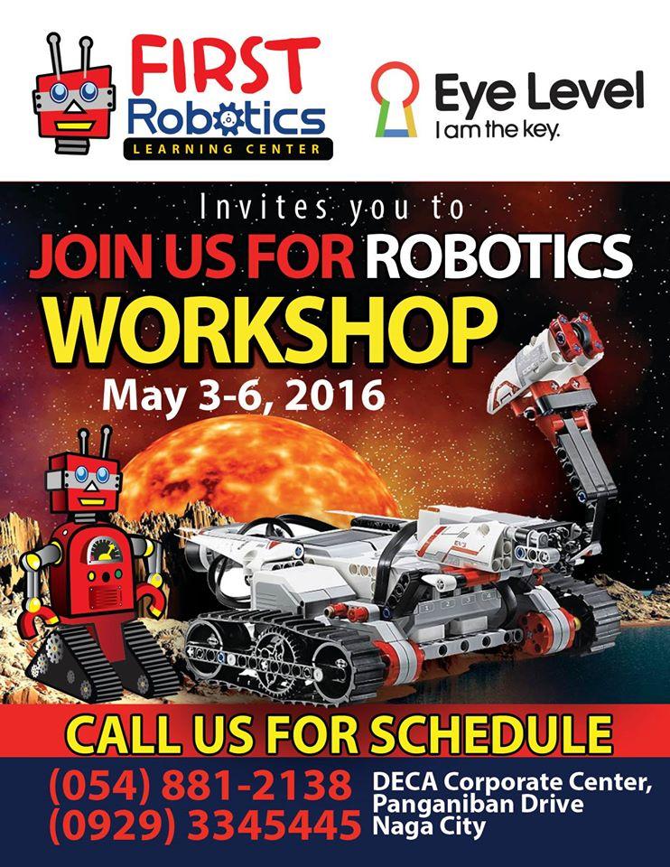 Naga City Robotics Workshop For Kids Naga City Guide
