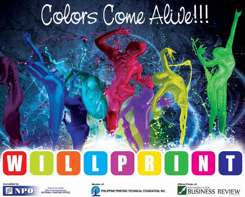 Willprint Colors Come Alive
