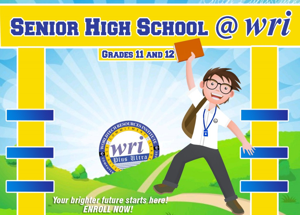 enroll at WRI senior high