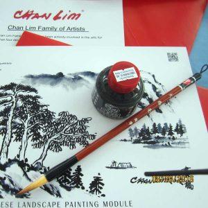 Chinese brush and chinese ink