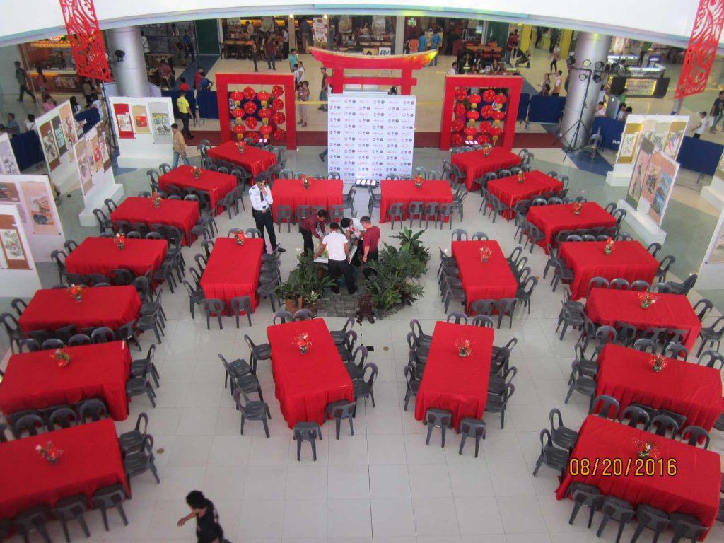 SM Naga Event Center Chan Lim Exhibit