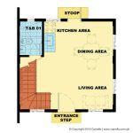 Camella Naga The Avenue Heights Bella ground floor plan