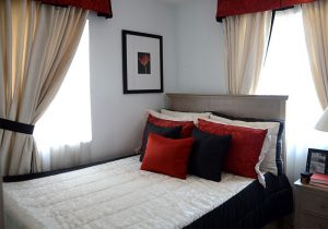 Camella Naga Freya model house bedroom