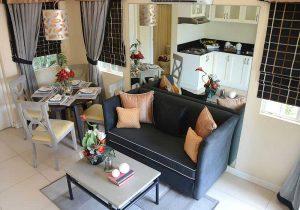 Camella Naga Freya model house living room