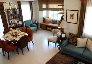 Camella Naga Greta model house living room