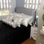 Lessandra Naga Mika model house bedroom