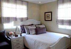 Lessandra Naga Mikaela model house bedroom