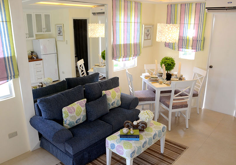 Lessandra Naga Mikaela model house living room