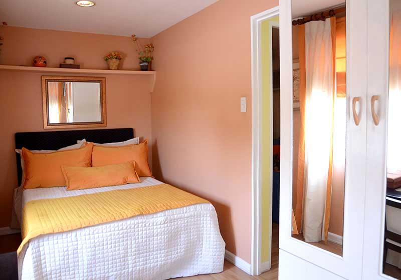 Lessandra Naga Ravena model house bedroom