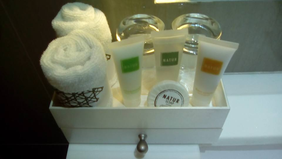 the carmen hotel toiletries