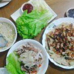 Samgyeopsal and Seafood Pancake - MannA Korean Food