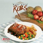 Baby Back Ribs - Red Platter