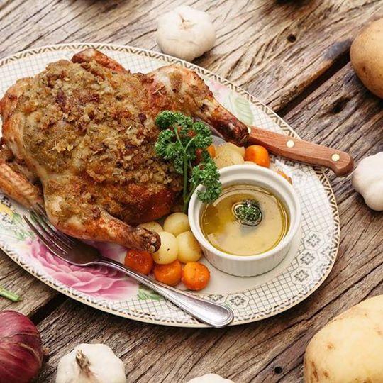 Auntie's Chicken - Casa Soriano Family Heirloom Cuisine