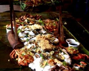 Boodle Fight - Krypton Grill