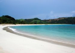 Calaguas powdery white sand beach