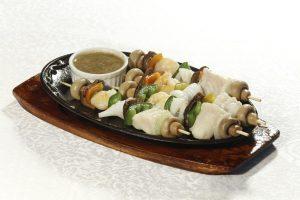 Seafood Skewer - Anne's Pool Bar Villa Caceres Hotel