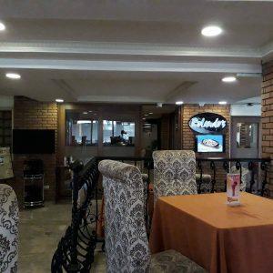 Rolando's cafe Villa Caceres Hotel
