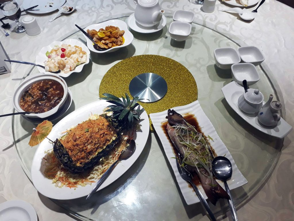 chinese food in legazpi south ocean villa