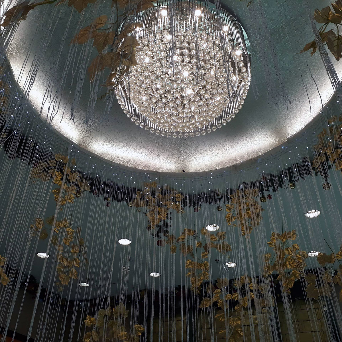 Grand chandelier naga city guide the concourse convention center grand chandelier aloadofball Gallery