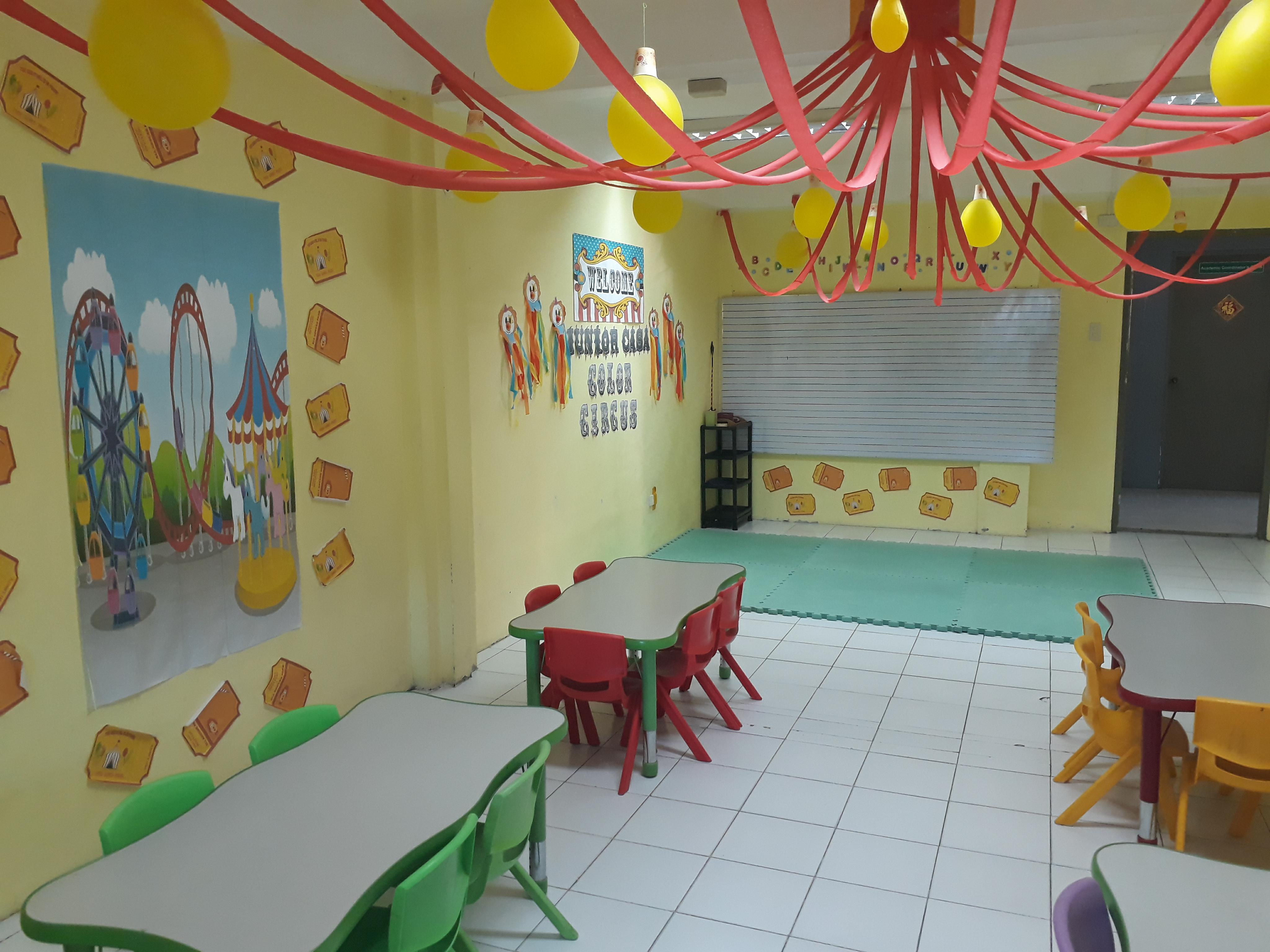 The Very First Room I Asked To Check Out Was Preschool Classroom Wanted See What Layout And If It Conducive Learning