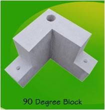90 degree block