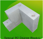 special 90 degree block left