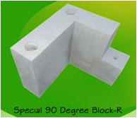 special 90 degree block right