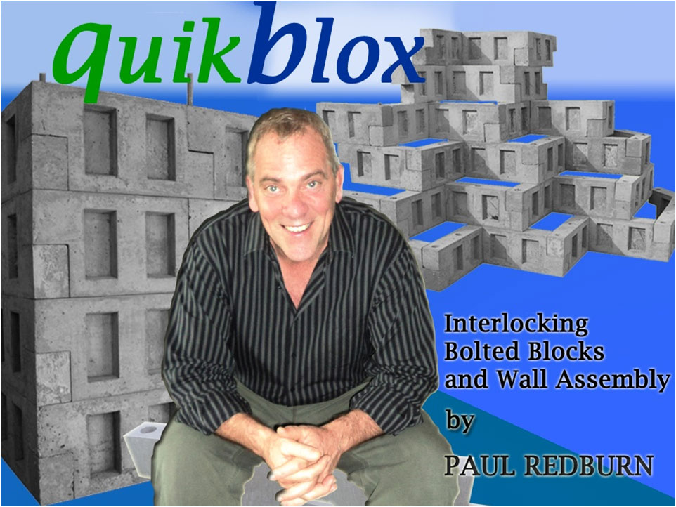 Paul Redburn QuikBlox Builders