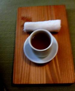 Post Massage Tea