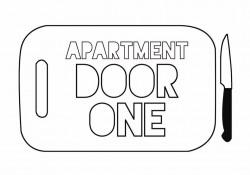 Apartment Door 1