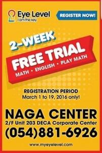 Eye Level Learning Center Free 2 Week Trial