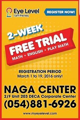 eye level learning center naga city