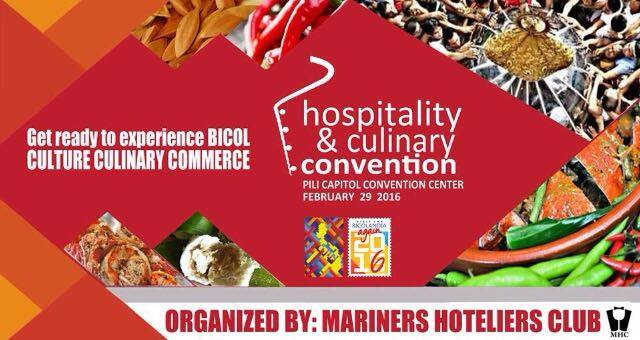 Hospitality & Culinary Convention in Pili by Mariners Polytechnic Colleges