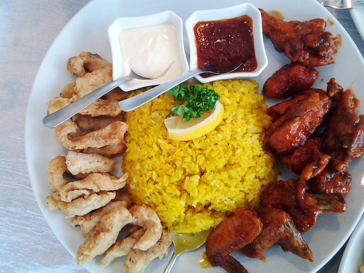Buffalo Wings Platter