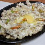 Hillary & Andrew Hostel and Restaurant Pork Sisig