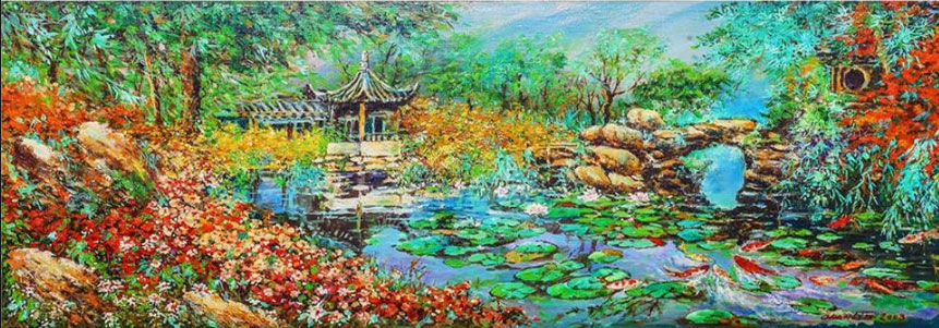 Chan Lim's Oil Painting