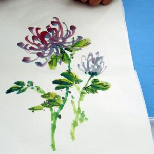 chrysanthemum painting