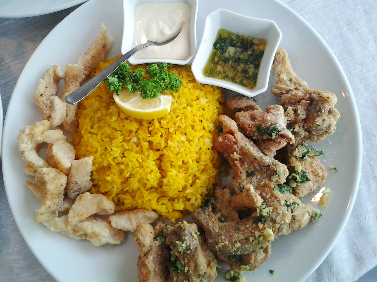 Chicken Parmesan Platter
