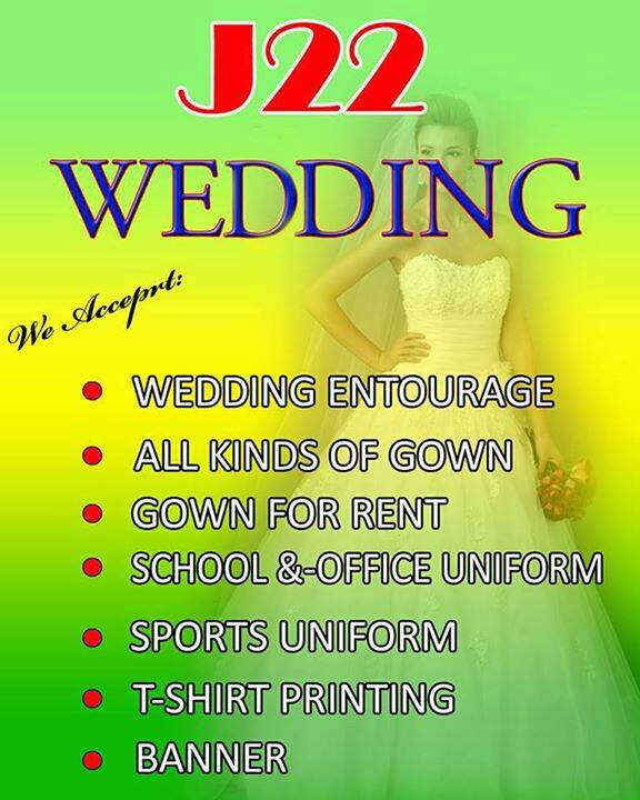 J22 Wedding Couture