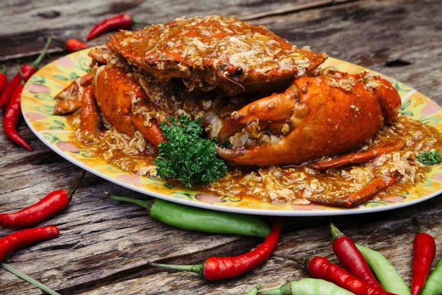 Chili Crabs by Casa Soriano