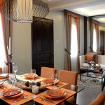 camella naga cara model house dining room