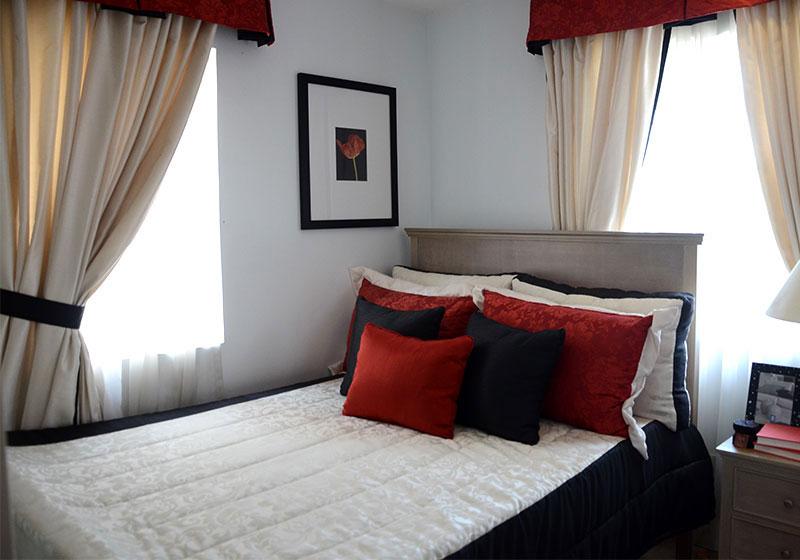 Camella Naga Freya model house bedroom