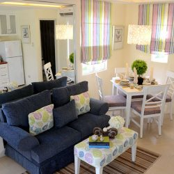 Lessandra Naga Mikaela model house living room