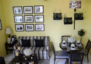 Lessandra Naga Ravena model house living room