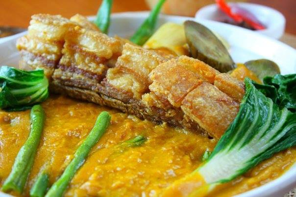 Kare-Kareng Lechon Kawali - Chef Doy's Gourmet Restaurant