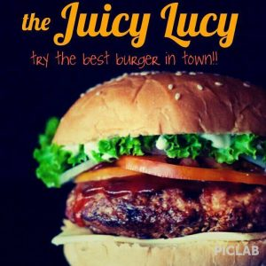 Juicy Lucy of Take Me Out Snack Bar